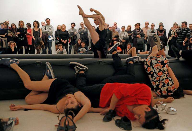 La premio Nacional de Danza 2016, Sol Picó, interpreta