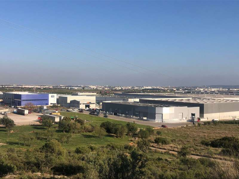 Zona industrial de Loriguilla. EPDA.