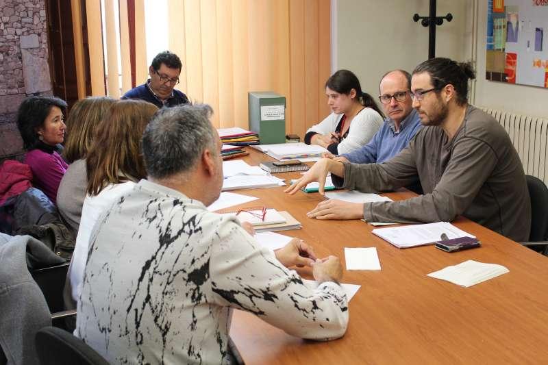 Reunión esta mañana entre hosteleros y equipo de gobierno del Ayuntamiento de Sagunto.