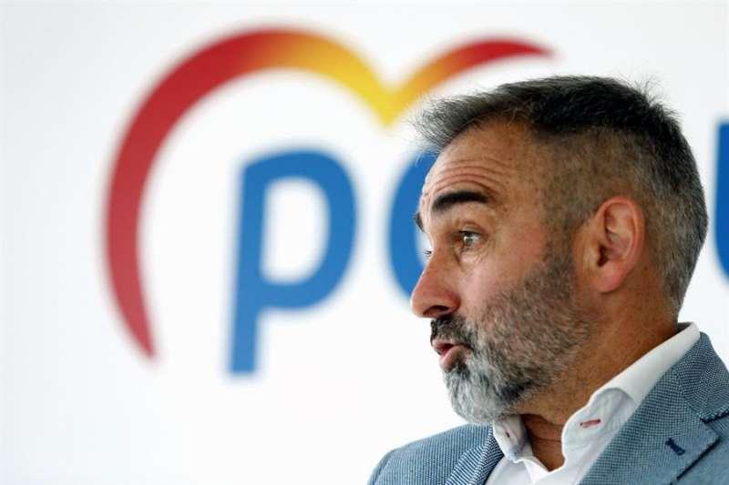El presidente del Partido Popular en Castellón, Miguel Barrachina, en una imagen reciente. EFE