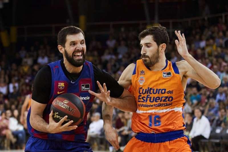 Mirotic durante el partido. EFE/Alejandro García