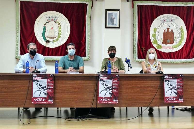 Presentación de la prueba en el Ayuntamiento de Segorbe