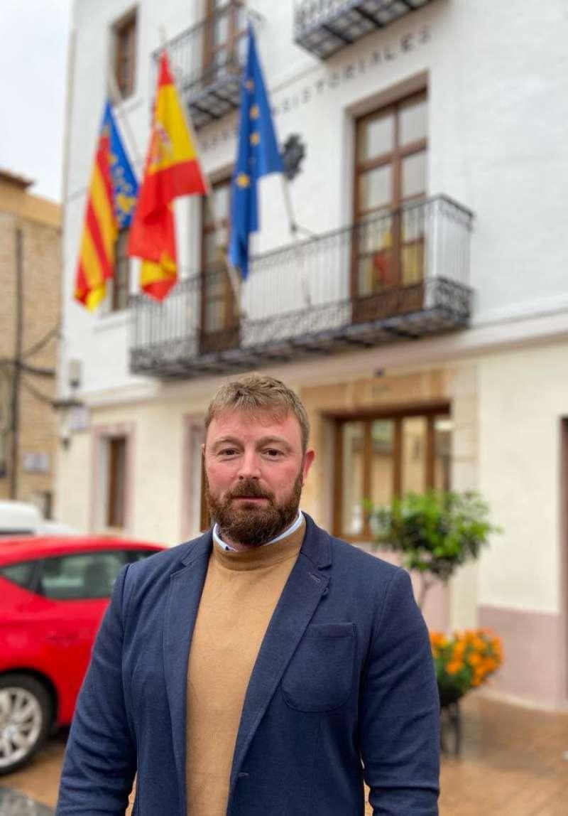 Ivan Sanchez alcalde de Sant Jordi