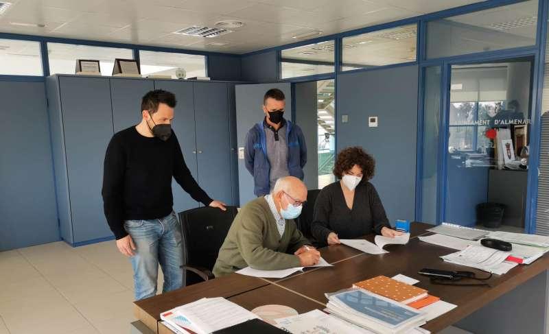 Signatura del conveni/EPDA