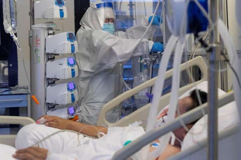 Hospitalizado de Covid-19. EPDA.