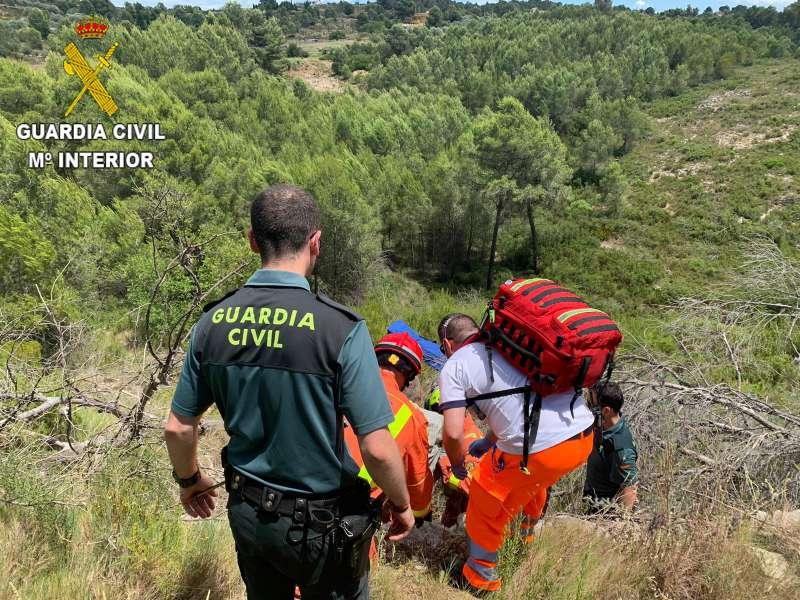 Rescate de la Guardia Civil. EPDA
