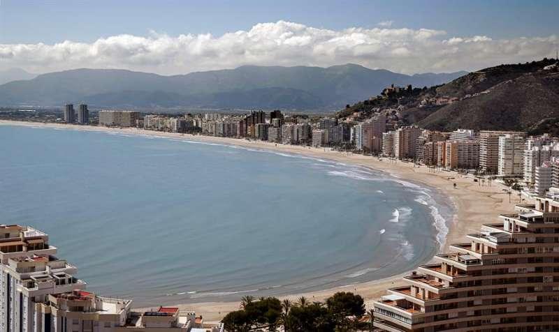 La playa de Cullera. EPDA