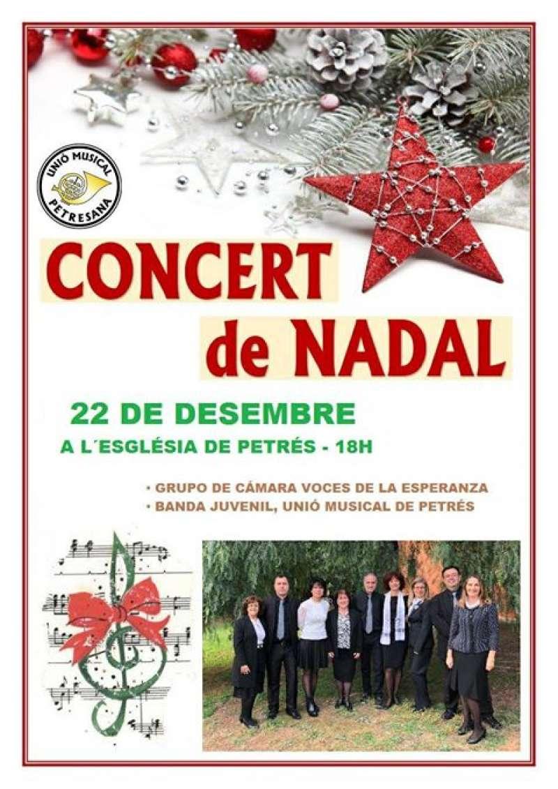 Concierto de Navidad en Petrés. EPDA