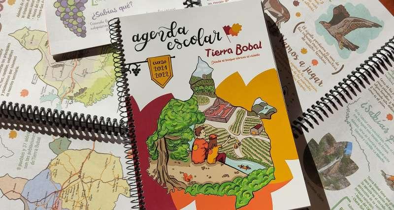 Agenda escolar Tierra Bobal./EPDA