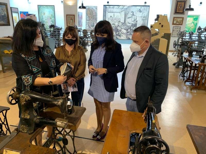 Visita al museo de calzado de Elda/EPDA