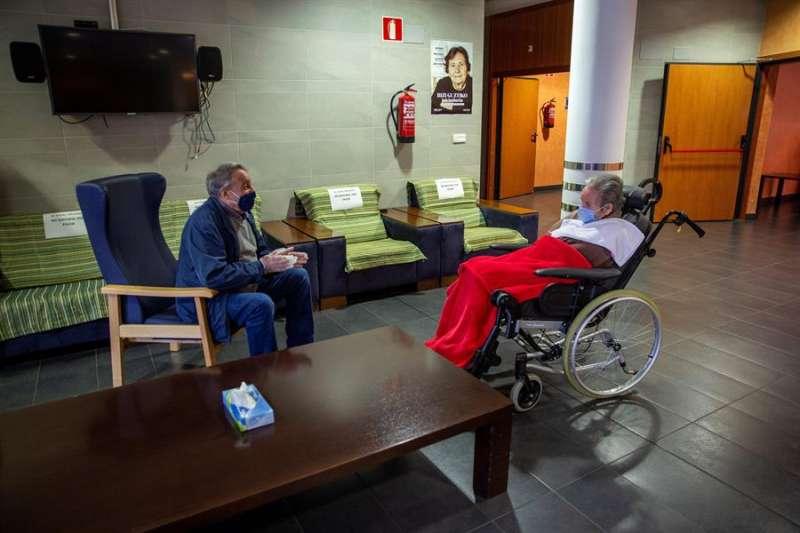 Interior de una residencia de ancianos. EFE/Archivo