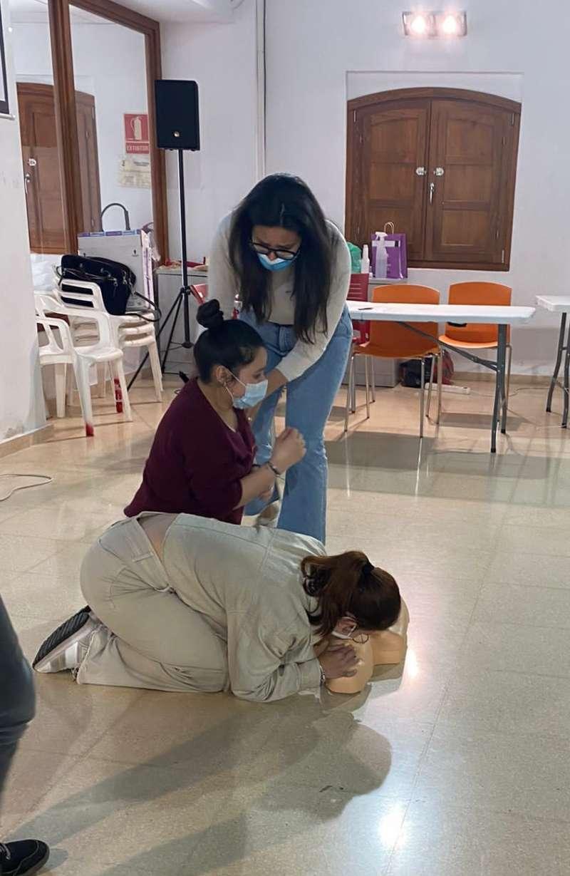 Curso de Primeros Auxilios en Sueca. EPDA
