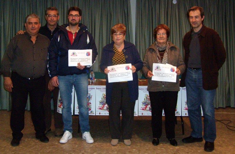 Premiats en la Campanya dels 3.000 euros d