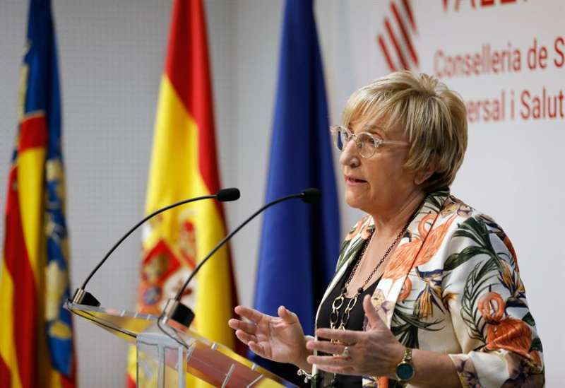 Ana Barceló, consellera de Sanitat