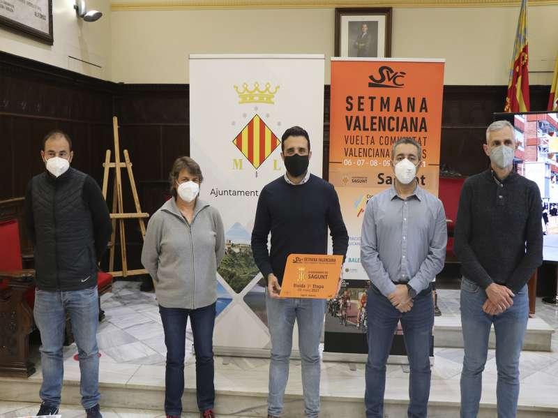 Presentación en el Ayuntamiento de Sagunt / EPDA
