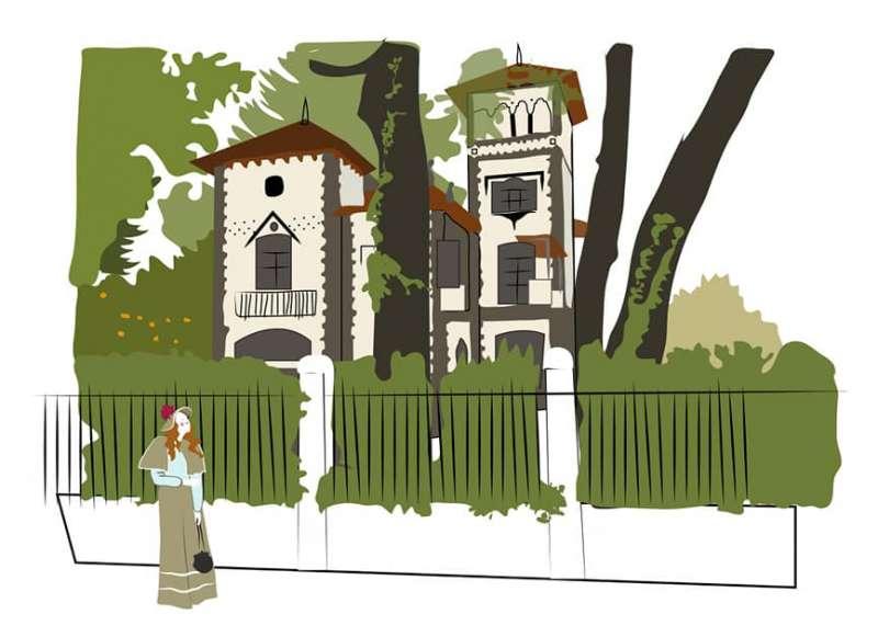 El huerto de Llopis en la visión de Meluca Redón