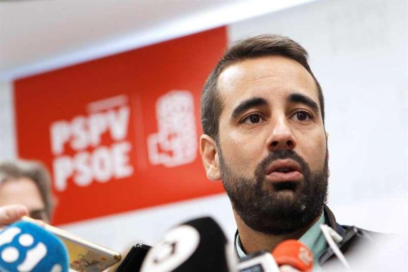 El secretario de Organización del PSPV-PSOE, José Muñoz. EFE/Ana Escobar/Archivo