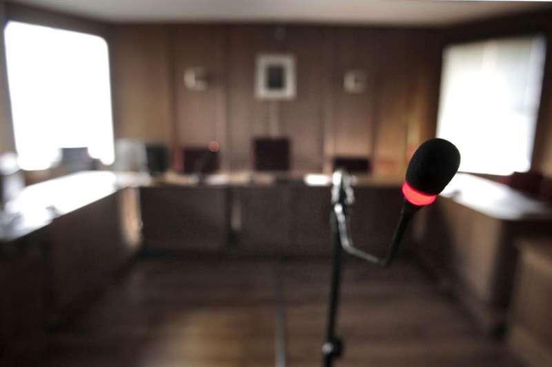 Vista de una sala de juicios vacía. EFE/Emilio Naranjo/Archivo