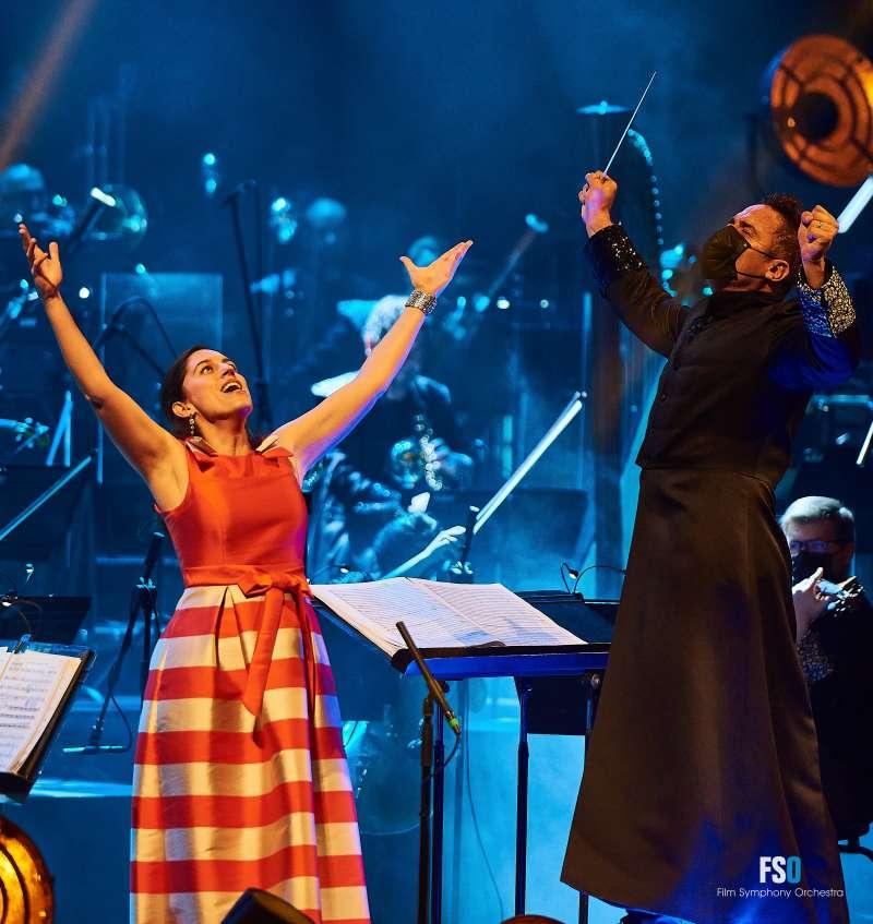 Acutación de la Film Symphony Orchestra