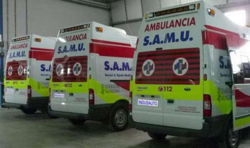 Ha sido atendida por equipos del SAMU y SVB