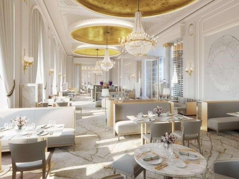 Zona de restauración del renovado Ritz, en una imagen promocional difundida por el hotel. EFE