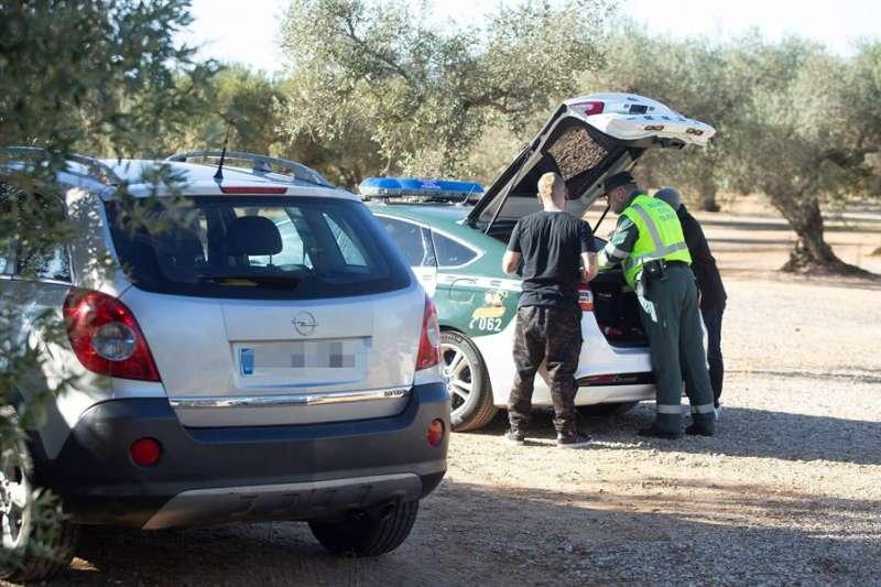 Operación de la Guardia Civil en Castellón. EFE/Domenech Castelló/Archivo