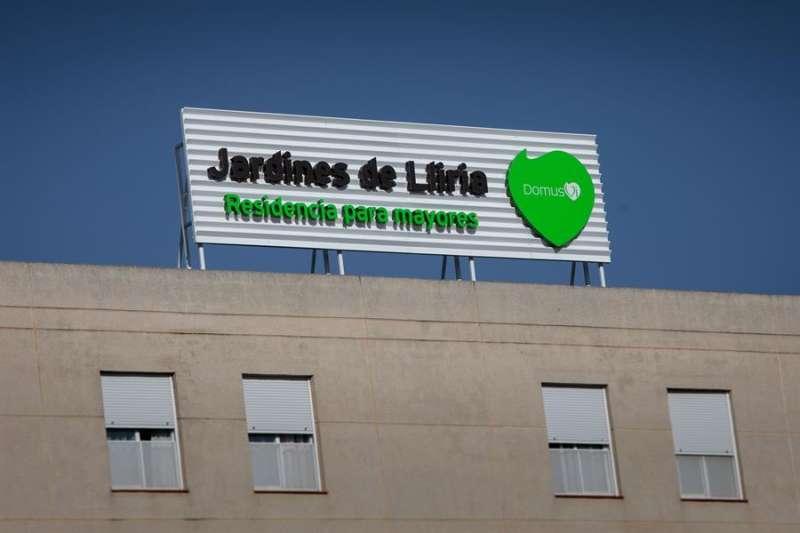 Vista general de la residencia Domus VI de Lliria (Valencia). EFE/ Biel Aliño
