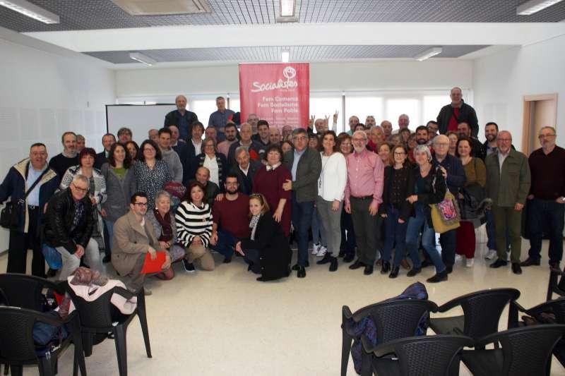 Participants en la jornada municipalista en Alboraia. EPDA