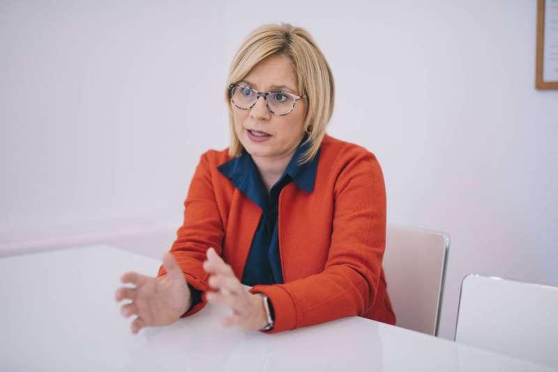 La portavoz del grupo municipal del PP, Mari Carmen Contelles. / EPDA