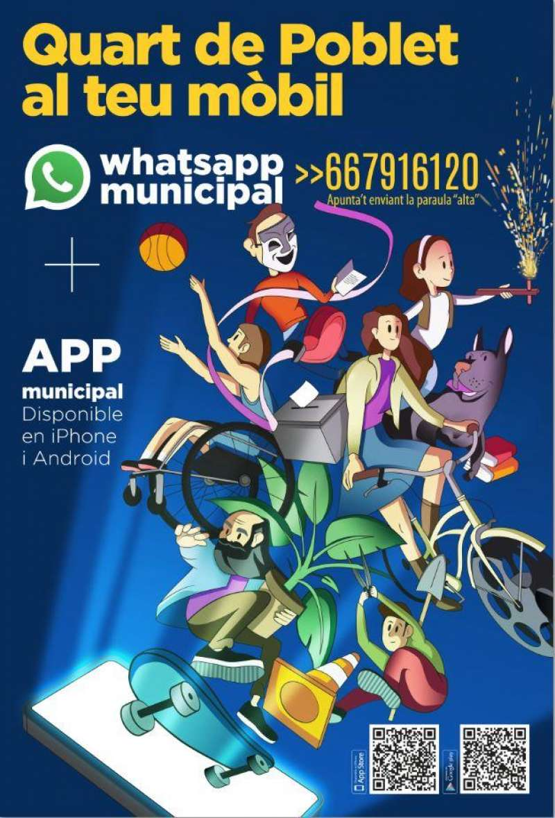 Whatsapp municipal Quart. EPDA