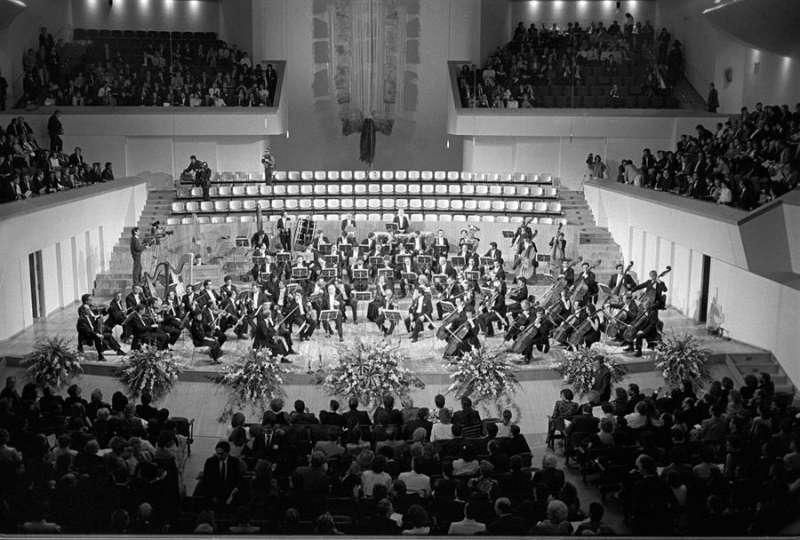 Concierto inaugural del Palau de la Música de Valencia. EFE/Archivo