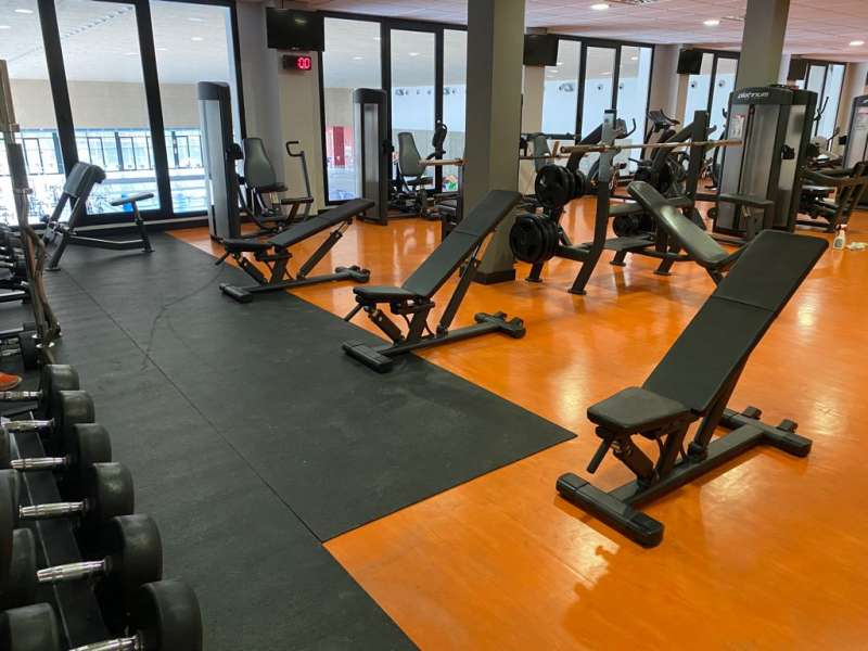 Sala de entrenamiento. EPDA.