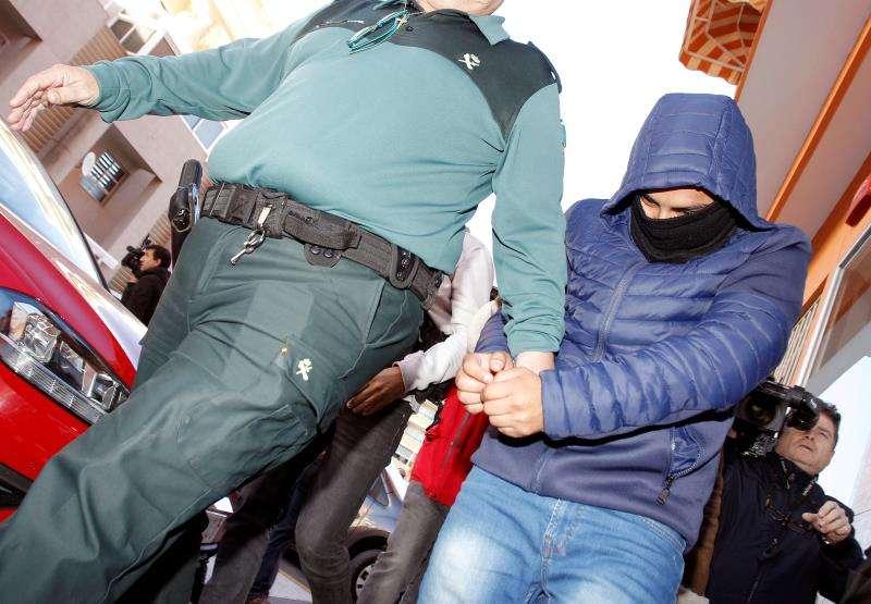 Uno de los detenidos en el caso de la llamada