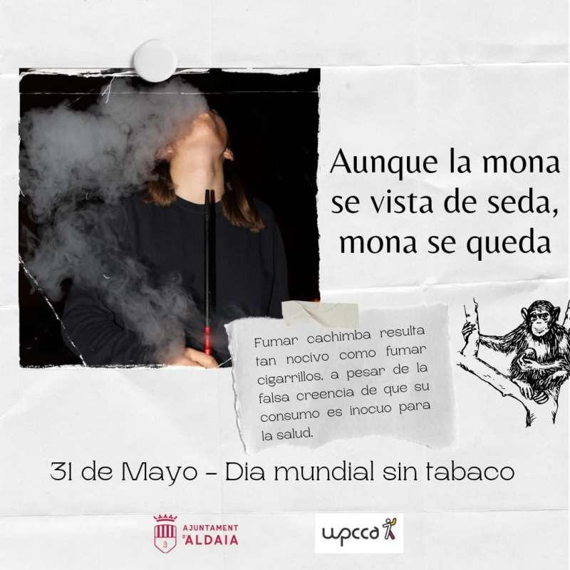 Aldaia dice no al tabaco. EPDA