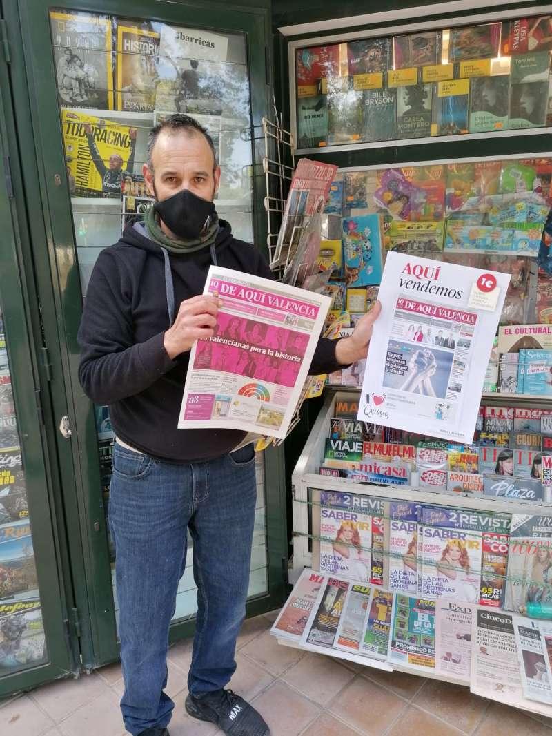 El quiosco del Saler incorpora a la venta El Periódico de Aquí. EPDA