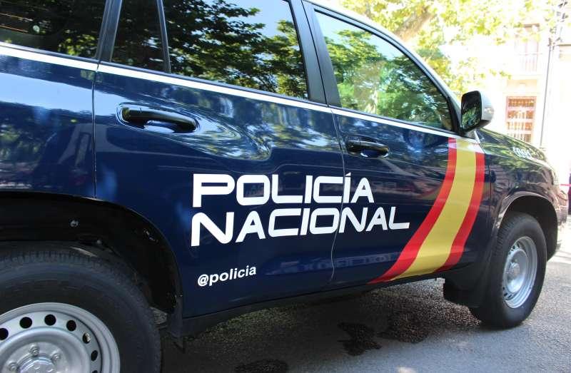 Imagen de archivo de un vehículo de la Policía Nacional de Valencia.