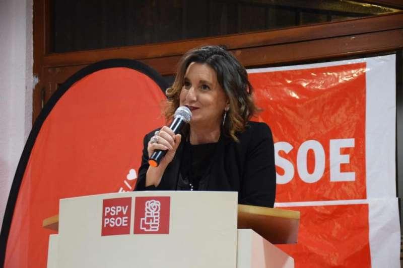 La socialista Mercedes Caballero. EPDA