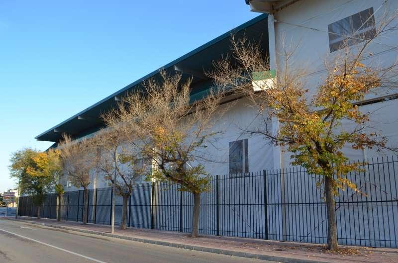 Vallado recinto multiusos Oropesa / EPDA