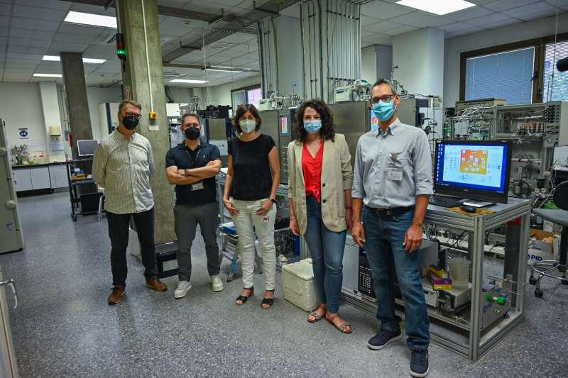 Los integrantes del equipo de investigación. Foto: UPV.