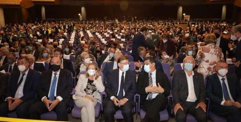 Auditorio de la gala, en una imagen compartida por la Generalitat.