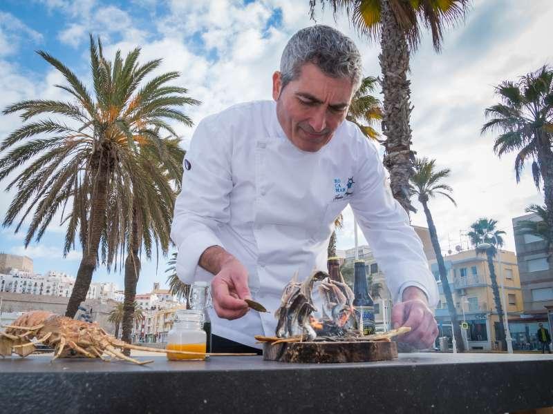 Javier Marqués cocinero de Peñíscola