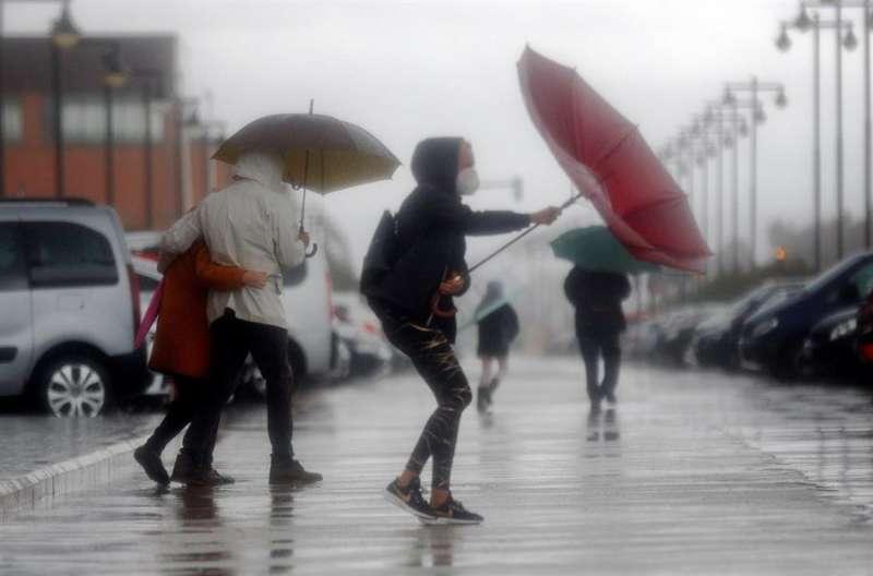 Jornada de temporal en la Comunitat Valenciana. EFE/Kai Försterling
