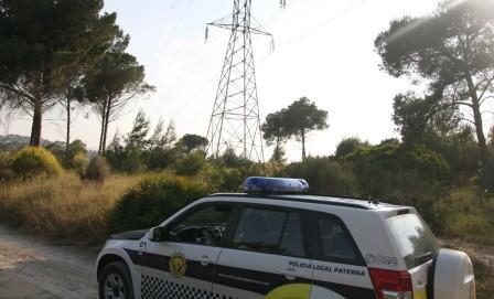 Imagen de archivo de un vehículo de la Policía Local en La Vallesa.