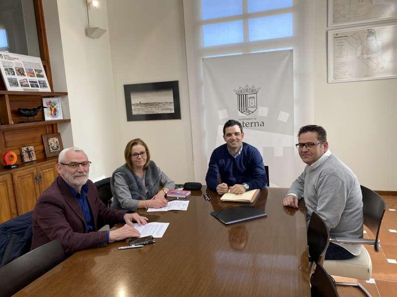 Reunión de alcaldes. EPDA