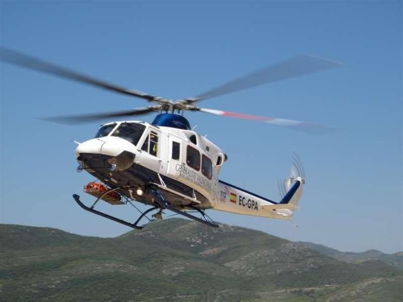 Helicóptero de rescate de la Generalitat Valenciana. / EFE