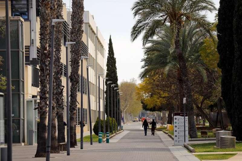 En la imagen el campus de la UPV. EFE