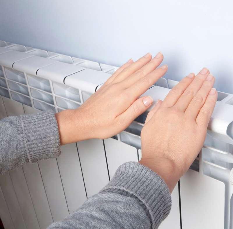 Calefacció en una imatge d