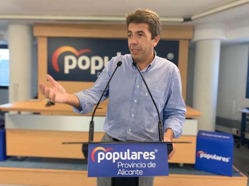 Imatge de arxiu de Carlos Mazón