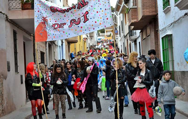 La participación es una de las características del Carnaval de Sot