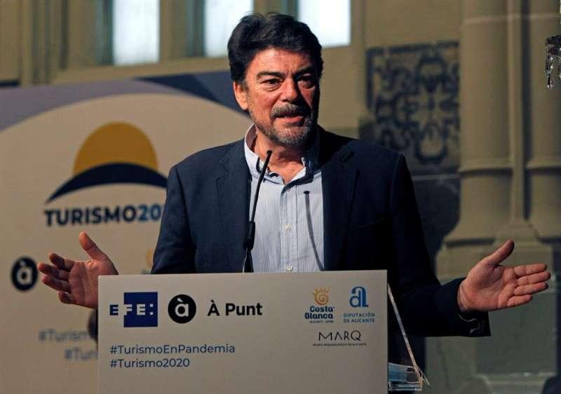 El alcalde de Alicante, Luis Barcala. EFE/MORELL/Archivo